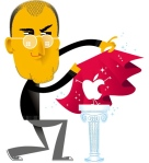 Apple's Retail Strategy - Steve Jobs Art by Business Week